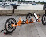 ابداع 3 چرخه با امکان نشسته و ایستاده راندن