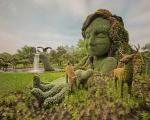 بزرگترین نمایشگاه و مسابقه مجسمه های گلی در مونترآل