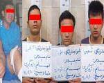 دستگیری آخرین عضو باند زورگیران
