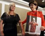 خانمی که بعلت بزرگی اندامش از کار اخراج شد +عکس