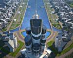 جزئیات ساخت مرتفع ترین برج جهان در ساحل دریای خزر (+ عکس)