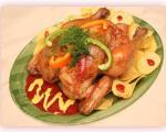 وطرز تهیه مرغ سوخاري در فر