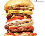 دستور پخت انواع همبرگر