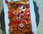 تاس کباب با مرغ یا گوشت (غذاهای رژیمی)