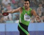 """بیم و هراس آشكار پرتابگر ژرمن از """"غول پارسی"""" در المپیک لندن"""
