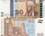 «سعدی» روی پول ملی تاجیکستان +عکس