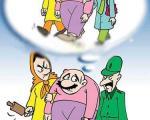 کاریکاتور ازدواج مجدد ممنوع شد !