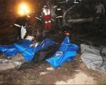 تصاویری از حادثه دلخراش تصادف در اتوبان تهران -قم