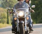 ماجرای توپ گلف و دندانهای یک زن موتورسوار +عکس
