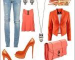 راهنمای انتخاب رنگ لباس؛ رنگ نارنجی