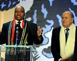 بلاتر: رویای ماندلا به حقیقت پیوست