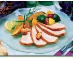 بوقلمون و خوراک سبزیجات