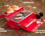 باربیکیو با طرح جعبه ابزار +عکس
