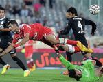 تلفیق فوتبال با تکواندو در ایران!+عکس