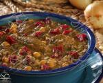 آش هالاو یا آبگوشت غوره، غذای محلی سنندج