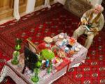 «جشن تولد» داریوش فرهنگ در باغ فین کاشان + عکس