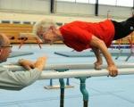 عکس: پیرزن 86 ساله، ورزشکار حرفه ای!
