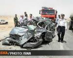 مرگ 107 تن در جادههای كشور/تصادف مرگبار اتوبوس در محور قزوین – كرج