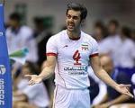 کاپیتان محبوب والیبال ایران در آستانه افتخاری تازه+عکس