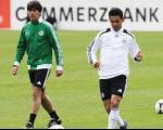 پا به توپ شدن شوماخر و روزبرگ، در اردوی تیم ملی آلمان