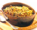 طرز تهیه ی خوراك قالبی سبزیجات