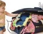 چگونه کوچولو خود را به سفر ببریم ؟