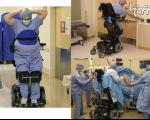 جراح ارتوپدی که از کمر به پایین فلج است