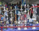 بساط های پردرآمدی که در گوشه پارکها برای فروش قلیان و بلال و موادمخدر پهن شده
