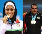 سلیمی و آزادپور برترین ورزشکاران ایران