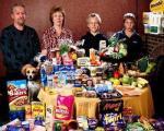 سرکشی یک پژوهش به هزینه غذای هفتگی فقرا و ثروتمندان+ تصاویر