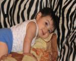 رشد حرکتی  پای کودک