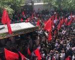 گزارش ازتشییع پیکر سردار همدانی