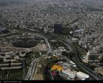 عکس: پرواز بر فراز تهران