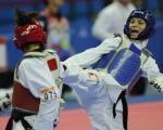 دختر ایرانی ، از نایب قهرمانی در آسیا تا کشف حجاب در بلژیک!/تصویر