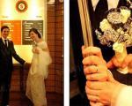 روشی جالب و غیر عادی در برگزاری مراسم عروسی +تصاویر