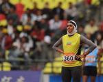 سپیده توکلی رکورد پرش ارتفاع ایران را زد