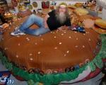 مردی که همه زندگی اش را شکل همبرگر در آورده است!+تصاویر