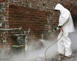 تمیز کردن دیوار معروفِ آدامس +عکس