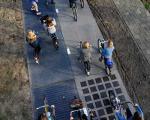 اولین جاده دوچرخه سواری تولید برق در هلند را ببینید(+تصاویر)