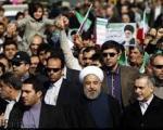 حضور رییس جمهور و اعضای دولت در راهپیمایی 22 بهمن(+عکس)