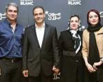 مهدی پاکدل، فرزاد حسنی و سروش صحت به همراه همسرانشان در کنسرت علیرضا قربانی+تصاویر