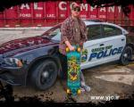 اولین پلیس اسکیت سوار در دنیا +عکس