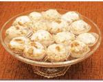 شیرینی گردویی خانگی شیرینی مخصوص عید
