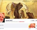 حمله کاربران ایرانی به فیسبوک وزیــر امورخارجه فرانسه/تصویــر