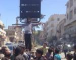 50ضربه شلاق، جریمه داعش بخاطر عدم بیعت با ابوبکر البغدادی(+عکس)