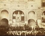 تصاویری از آیینهای عزاداری محرم در عصر قاجار