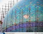 """بخشی از کاشی های گنبد """"مسجد امام"""" فرو ریخت + عکس"""