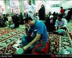 عکس: شب آرزوها در حرم عبدالعظیم (ع)