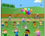 تفریح کودکان در فضای باز