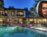 عمارت 4/4 میلیون دلاری «جانی دپ» در هالیوود + تصاویر